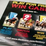 123racing.ca : Magazine and Program Ad
