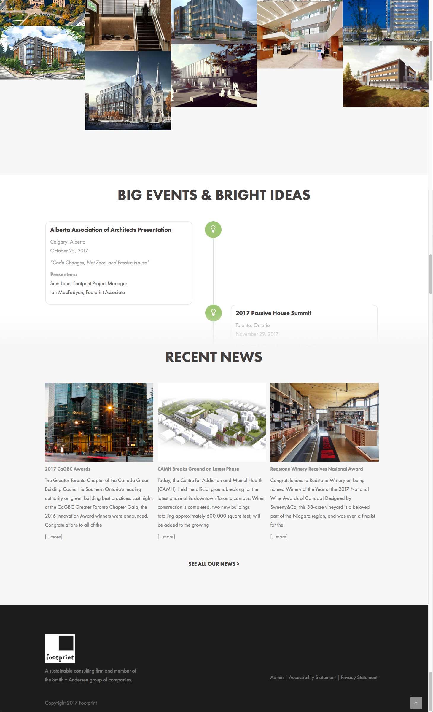 Footprint Homepage bottom