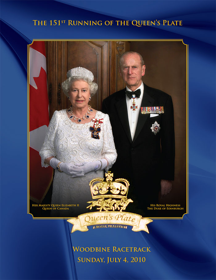 Queen's Plate 151st Program with Queen Elizabeth : Cover
