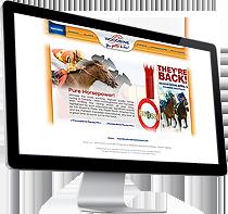 TheRacetrack.ca : Web Design