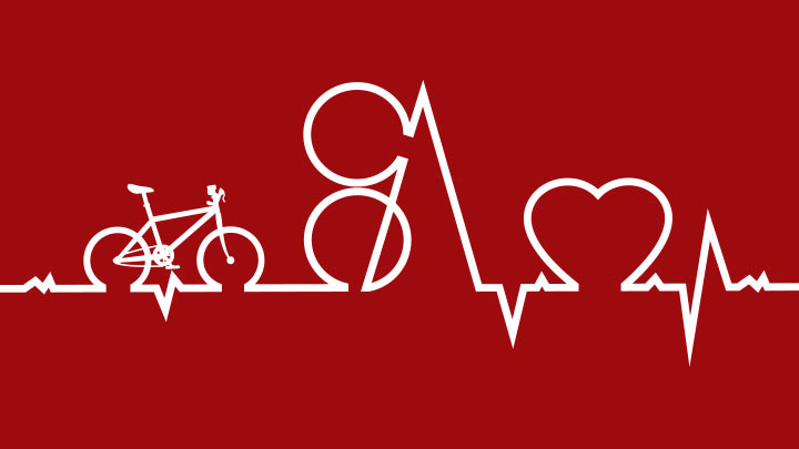 S+A Ride for Heart Logo