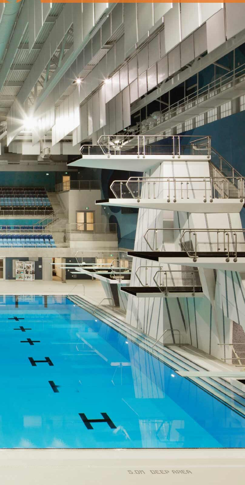 S+A 6' Aquatics Center Banner
