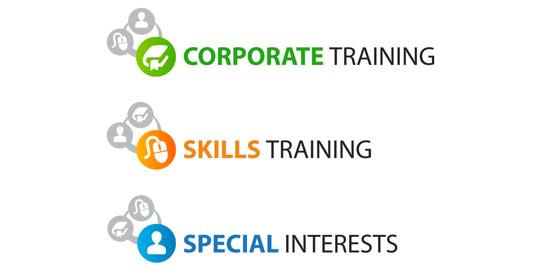 Training at CCO logo - supporting logos
