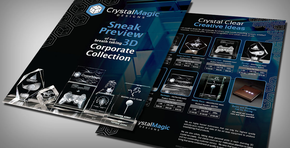 Crystal Magic: Sales Sheet - 1pg, double sided