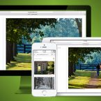 Curraghmore Farm responsive website