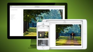 Curraghmore Farm responsive website