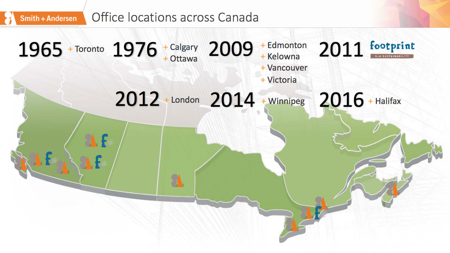 Office Locations animated slide
