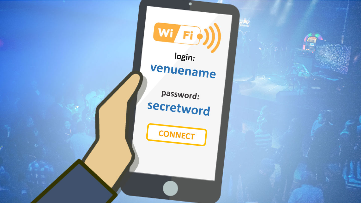 WiFi Connect animated slide