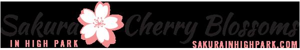 SakurainHighPark.com 2014 logo design