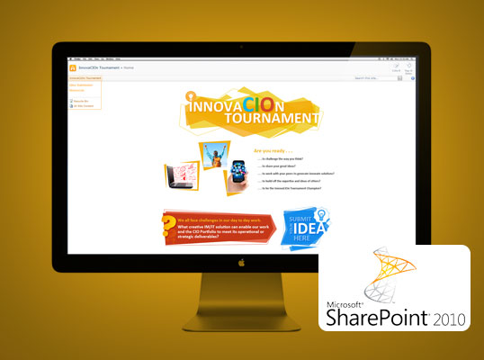 CIO Innovation Tournament - Sharepoint site