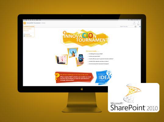 CIO Innovation Tournament - Sharepoint site