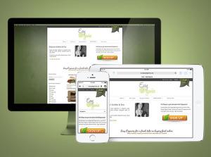 EasyOrganics.ca Responsive eCommerce Website