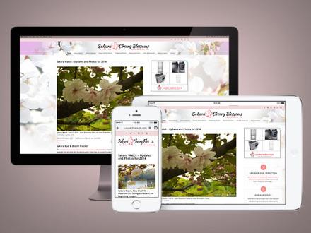 SakuraInHighPark.com Responsive Website