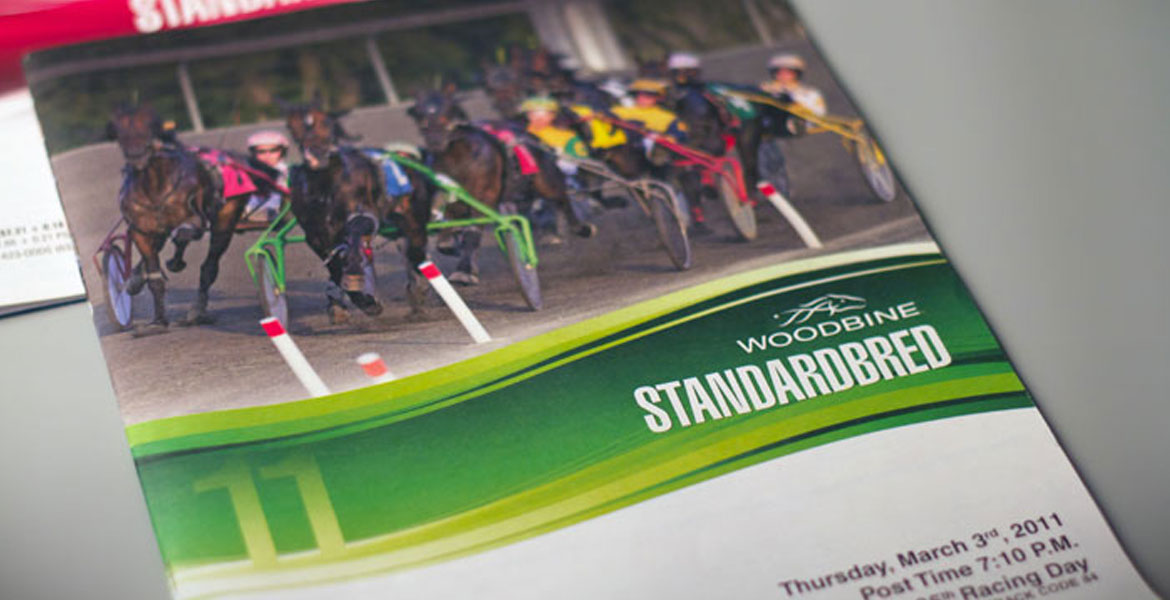 WEG Racing Program - Standardbred green cover
