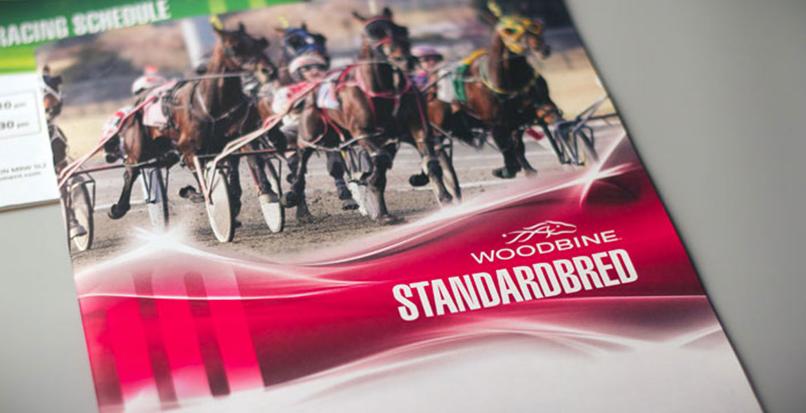 WEG Racing Program - Standardbred red cover