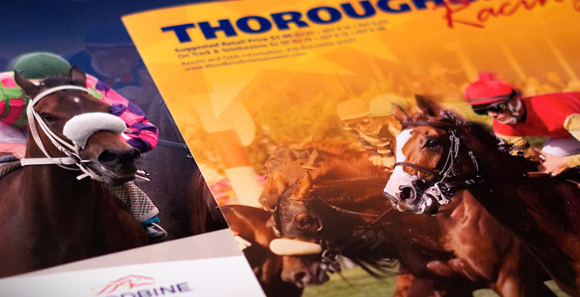 WEG Racing Program - Thoroughbred covers