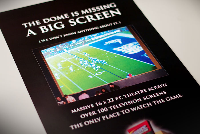 WEGZ Stadium Bar : Branding advertising campaign story with complimentary graphics #3