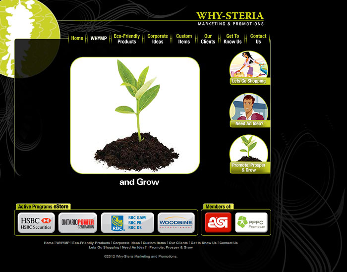Why-Steria : Promote, Prosper & Grow