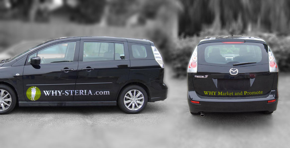 Why-Steria Marketing & Promotions : vehicle branding