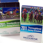 Z-Card Woodbine & Mohawk Racing Calendar