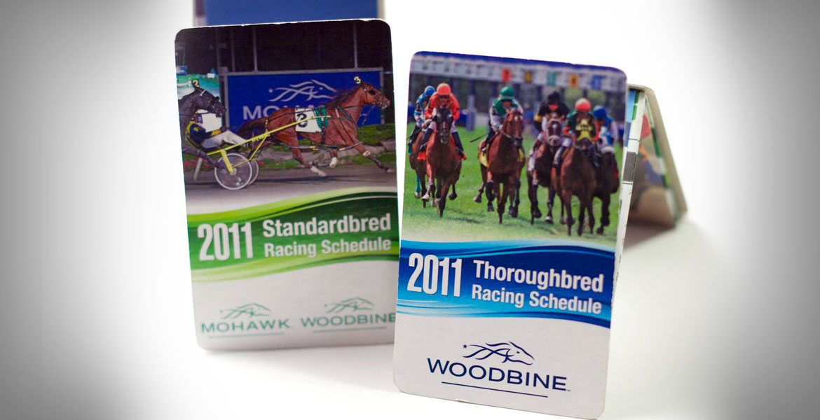 Z-Card Woodbine & Mohawk Racing Calendar